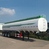 Chinese Manufacturer 48m3 Oil Tank Semi Trailer with 4 Compartments