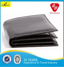 13588 high-quality new style RFID blocking leather men's rfid wallet