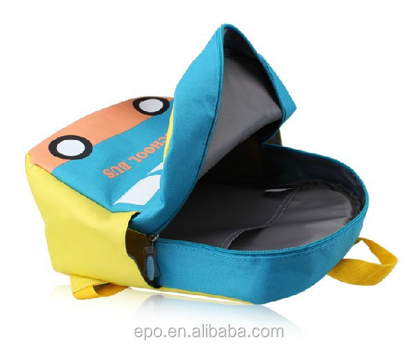 Hot new cartoon car kids school bags