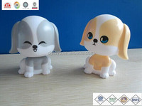Custom dog with bobble head,nodding head dog