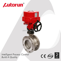 China supplier price for OEM Explosion Proof Electric Wafer Butterfly Valve