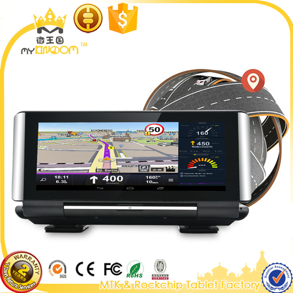 6.86inc Car DVR Camera Android 5.0 Dash Cam Dual Lens camera Car GPS Navigator with 4G wifi networks Parking Monitoring gps