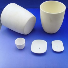 Smelting Melting High Pure Al2o3 Zirconia Ceramic Crucible Boat for Lab