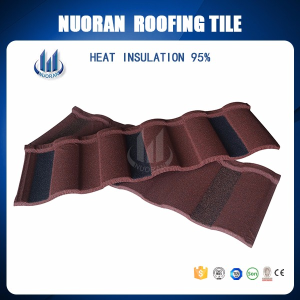 Hot Selling Nigeria Popular Cheap Natural Stone Chip Roof Tile