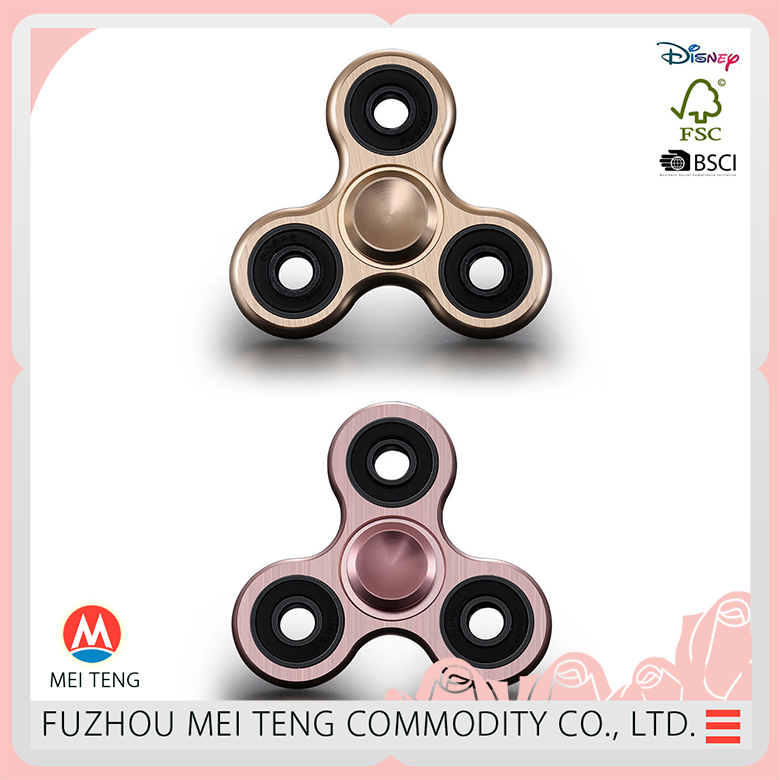 Special ODM OEM service 360 air toy alloy spinner