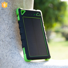 Hot new model 2017 outdoor solar energy 8000mah Universal cell phone portable charger power bank