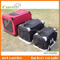Portable Pet Dog House Soft Crate Carrier Cage Free Carry Case