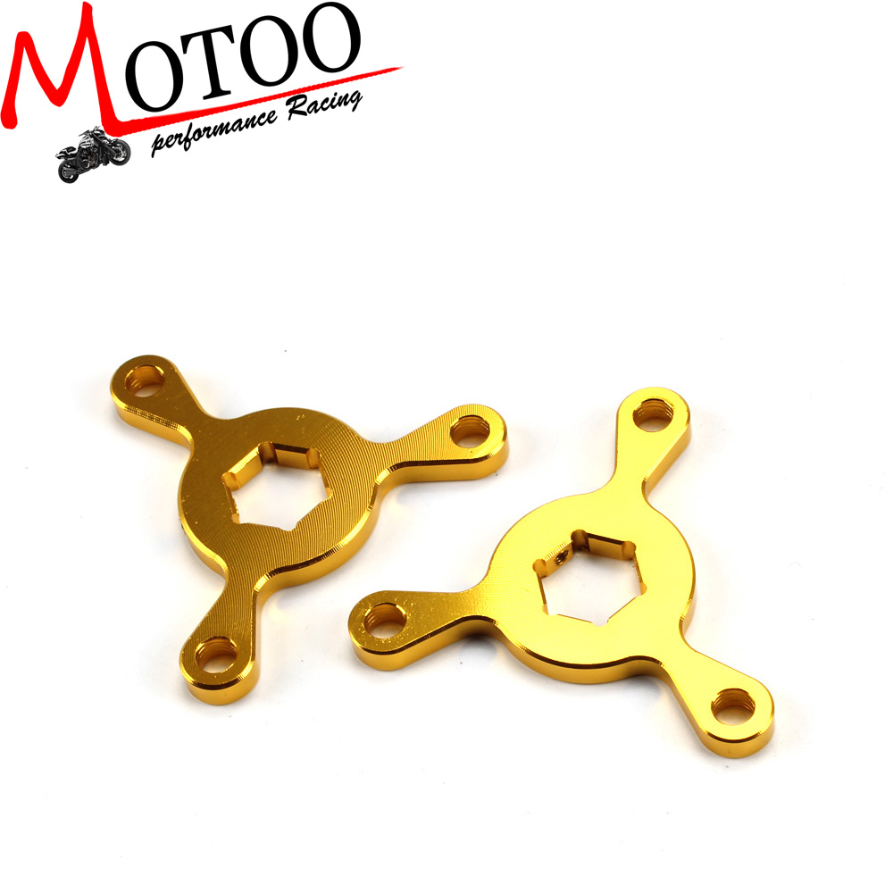 Motorcycle 14mm CNC Fork Preload Adjusters FOR Kawasaki ZX-10R ZX-6R/RR Suzuki GSXR1000 <strong>R1</strong> R6 MT-<strong>09</strong> FZ1/Fazer1000