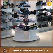 3 tier display table wooden display stand fashion retail shoe clothing store display furniture