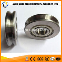 Best price U or V groove Straightening roller bearing 624ZZVH0.6-155