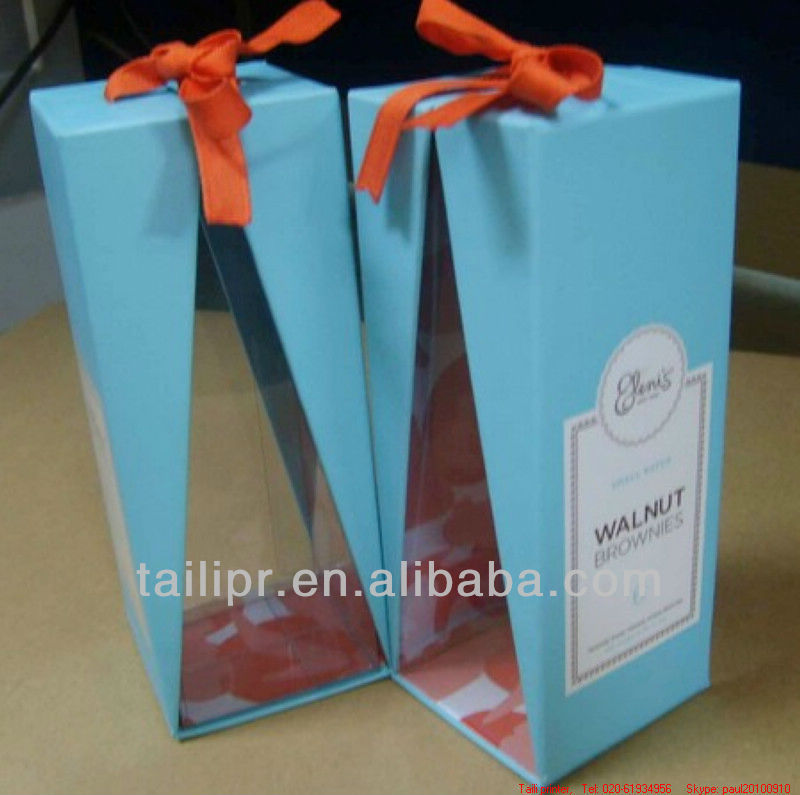 paper food box with PVC box