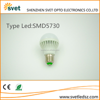 New design high quality energy saving led light bulb parts 5w