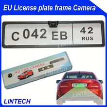 2014 Europe Cars Number plate backup guide line distance camera
