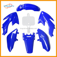 Blue ABS Plastic Fairing dirt bike pit bike CRF50 fiberglass body kits for motorcycle