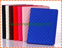 Quilted case Cover for iPad air Retina Folio Protection Leather