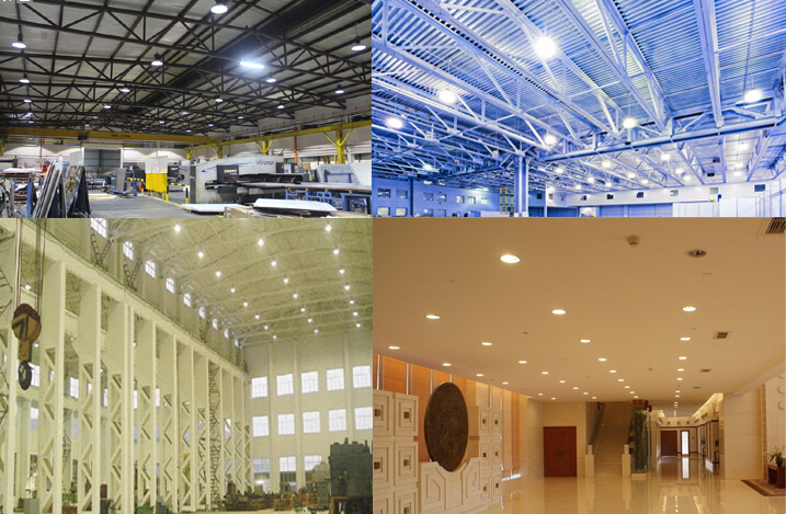 health led light 100w factory wholesale cool white led high bay light