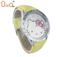 Kitty Clock Hand Watch Silicone Jelly Watch New Design Watch