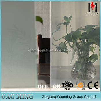 Top Quality Transparent Smart Film Glass