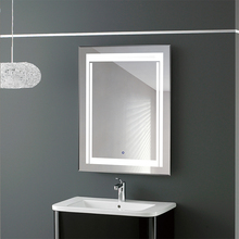 FAAO bathroom wall mounted new glass mirror tv
