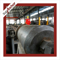 SupAnchor low price tunneling construction high quality SDA hollow drilling rock anchor mine roof rock bolt and nut g22