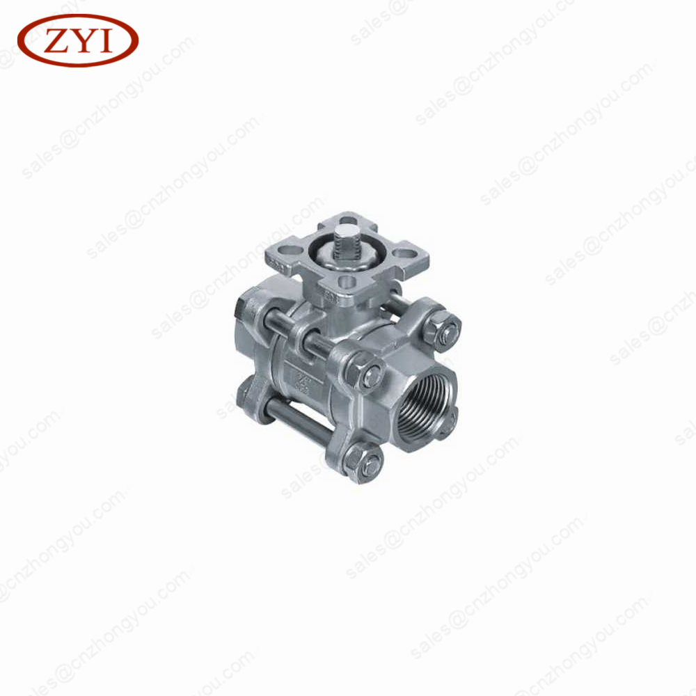 Irrigation Thread Manual Brass copper ball valve