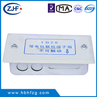 China factory high quality equipotential bonding terminal box TD28