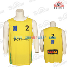 2014 fashion custom basketball uniforms design/new style basketball jersey