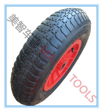 Dinghy wheel inflatable rubber tyre 4.00-8