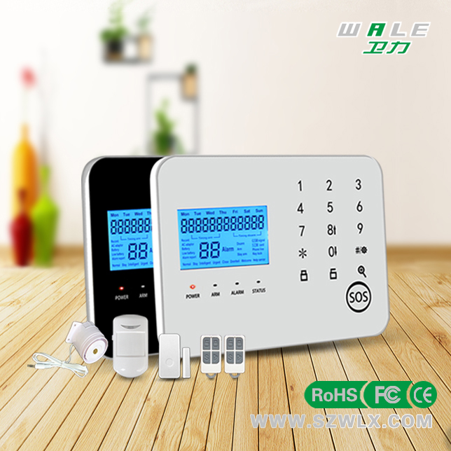 Dual Network Smart Home security PSTN GSM Alarm System