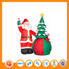 Inflatable christmas yard decorations snowman and tree