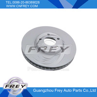 Brake disc 34116785670 348mm - for F01 F02 F10 F18 F07 F11 F12 F13 FREY AUTO double-deck brake disc.