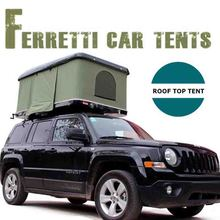 2018 New Factory supply 4WD Offroad Camping Canvas Car Roof Top Tent For Sale