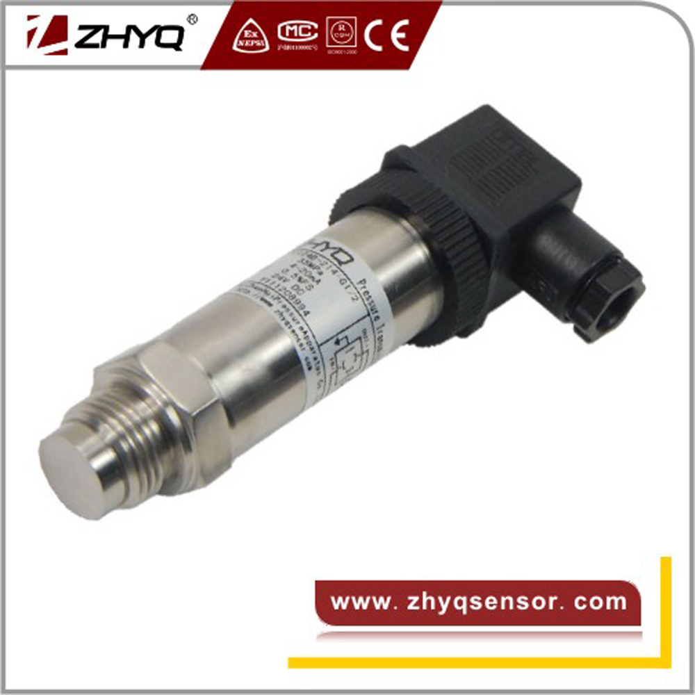 Corrugated flush diaphragm Pressure transmitter for food machinery