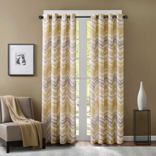 100% polyester printed blackout window curtain