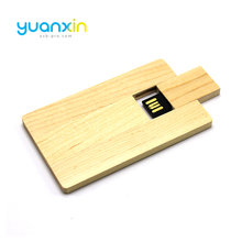 New Gadgets China Cheap Bulk Wooden Business Card Usb Flash Drive 1Gb To 64Gb Usb Credit Card
