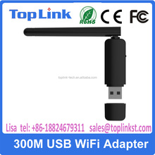 300Mbps dual band Mini Soft AP USB WiFi Adapter with external antenna