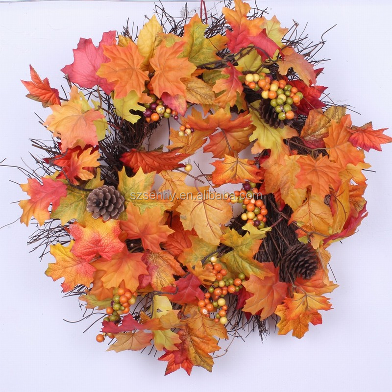 2016 Fall Colors Maple Leaves vine/wreath/ garland