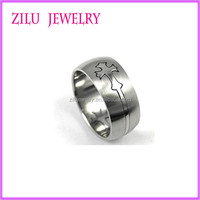 316l Stainless Steel Jewelry Celtic Cross Rings China Factory Wholesale