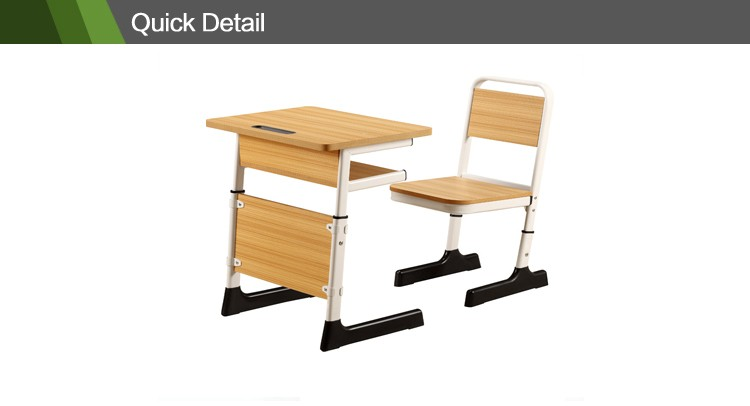 primary school furniture classroom table and chair classroom desk and chair CT-341