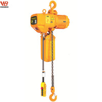Hot Sales Hook type Trolley Type Remote Control Electric Chain Hoist 1t Lifter