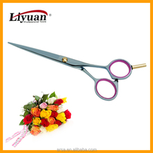 Professional hair scissors light and thin type titanium coating hot selling baber scissors