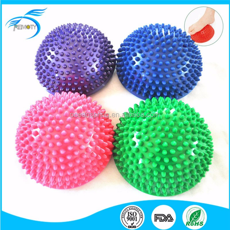 Durable Domed Foot Massage Ball Spiky Balance Pods