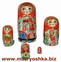 Boyfriends Grooms Matryoshka Babushka Nesting Stacking Traditional Russian Wooden Doll in Doll Hand Carved of Wood Hand Painted