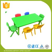 Primary School Kids Party Plastic Chairs And Childrens Tables