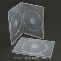 14mm transparent double clear DVD CASE