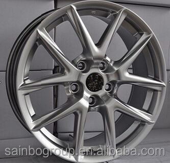 Comfortable And Light Weight alloy wheels with different colors F10163
