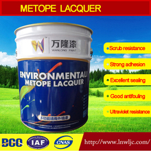 Factory direct sale Exterior wall latex paint Water Based Acrylic Acid