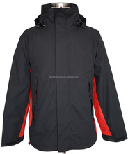 Mens two-stone breathable waterproof 10000MM outdoor jacket fully seam taped