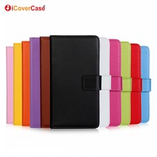 Mobile Accessories Factory Cell Phone Flip Wallet Leather Case for Huawei Ascend Mate MT1-U06 Cover with Card Holder Kickstand