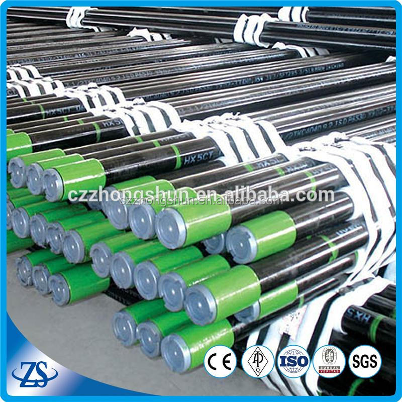 hot rolled big outside diameter steel pipe with thread oil casing